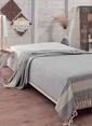Eponj Home Çift Kişilik Yatak Örtüsü Gri